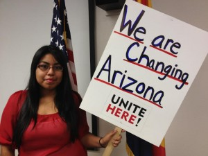 Maura Rodriguez stands up for voting rights
